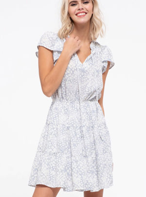 Dawn Dot Dress