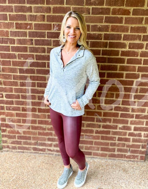 Tayler button pullover