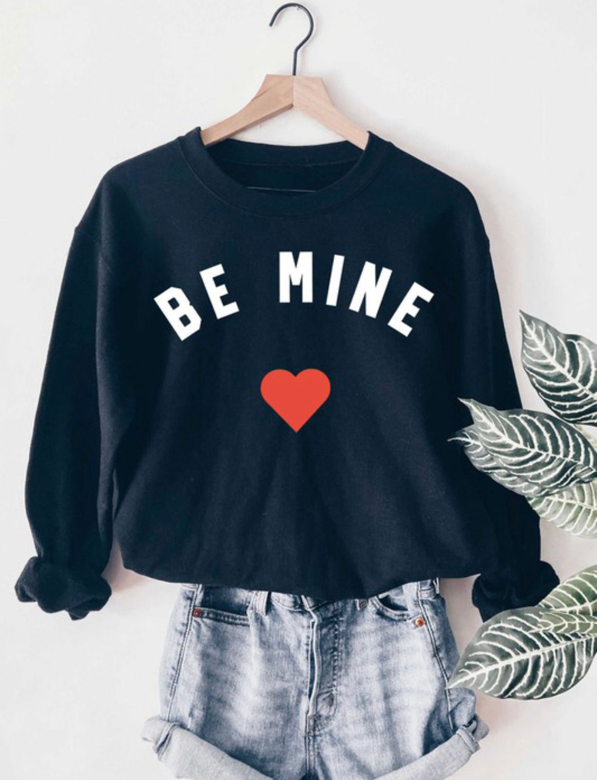 Be Mine Crew Fleece