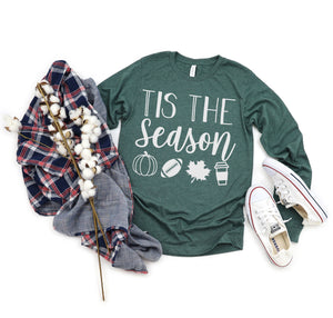 'Tis the season long sleeve {Grey + co}