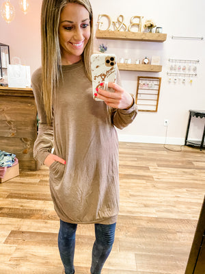 Iris pocket tunic