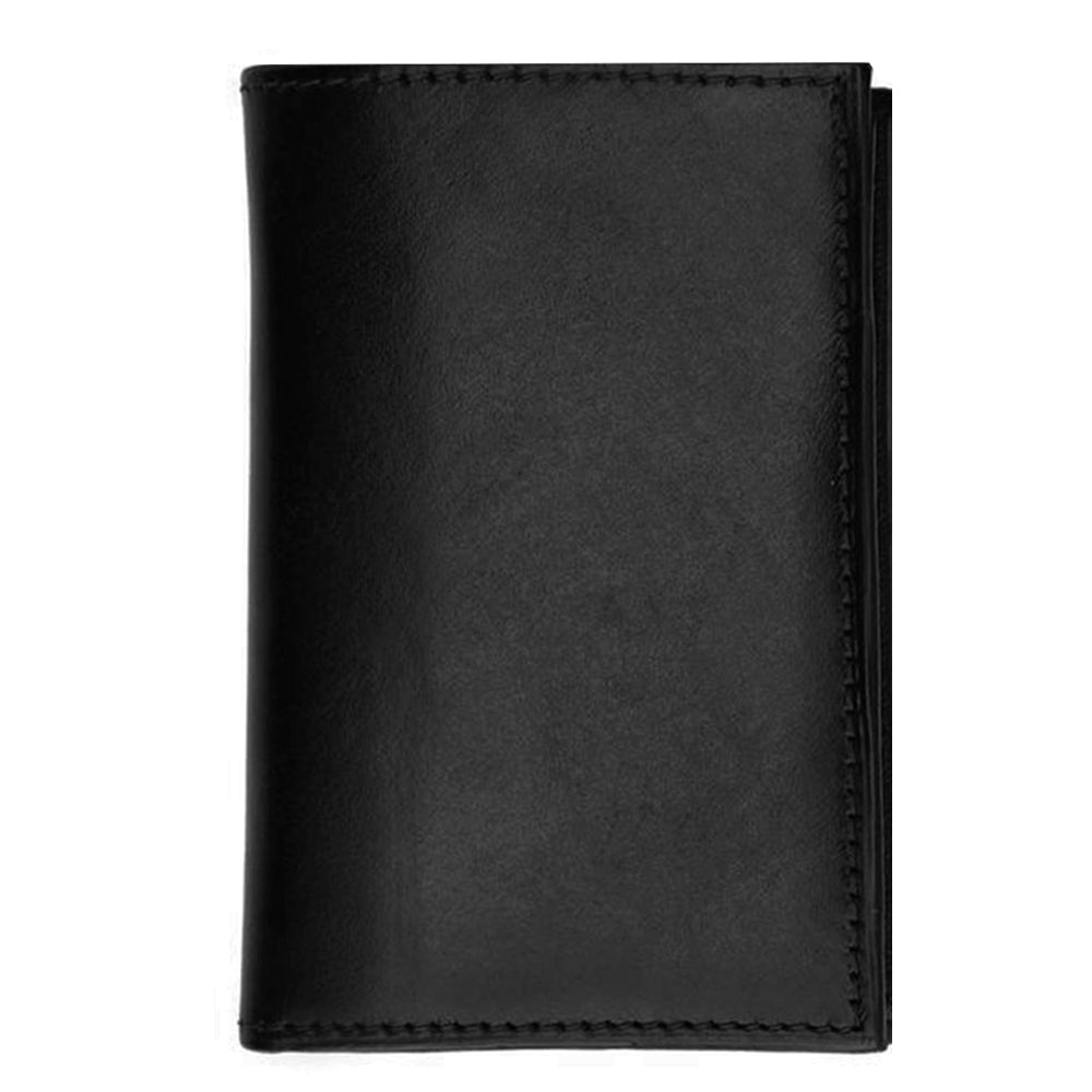 Genuine Leather Tri-fold Wallet