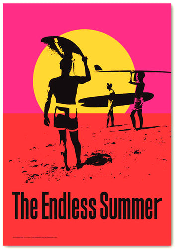 Endless Summer 50th Anniversary Poster