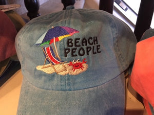 Beach People Baseball Cap