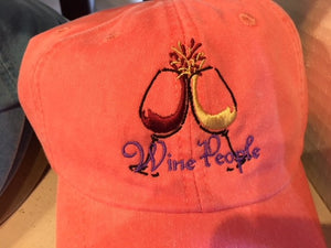 Wine People Baseball Cap