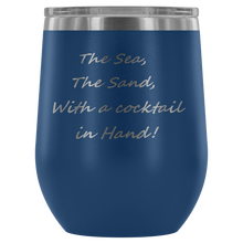 Cocktail in Hand Wine Tumbler
