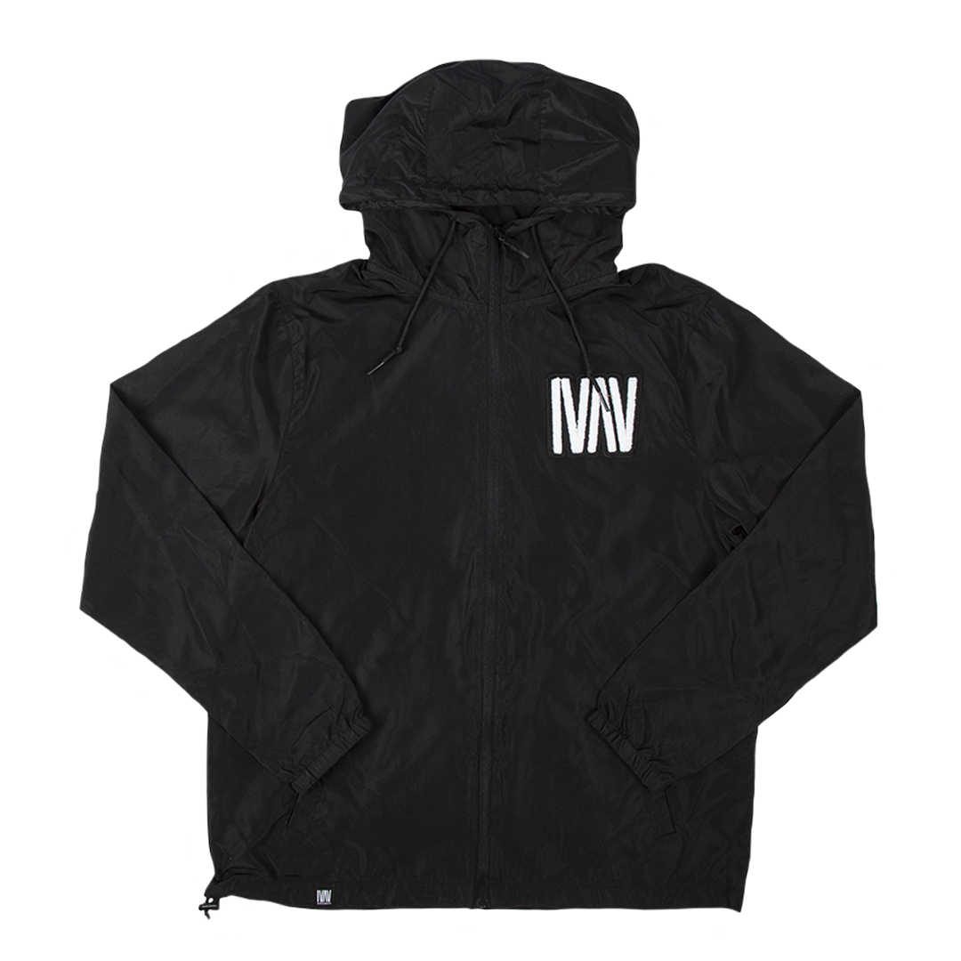 Black Windbreaker