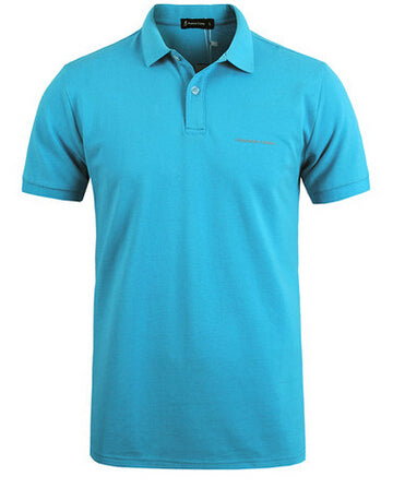 Men Polo Shirt  Business & Casual solid Short breathable Size M-XXXL