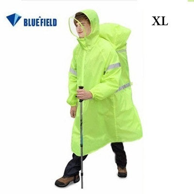Raincoat, Rain wear, Backpack, Rain Cover, Unisex,Camping, hiking,
