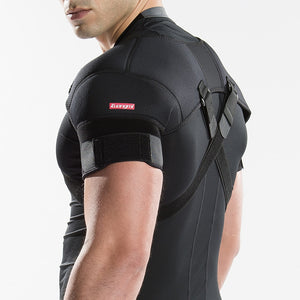 Removable, Shoulder Support Belt, Flexible Back, Correct Rectify Posture Adjustable Wrap For Sports