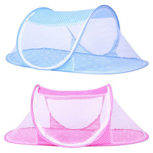 Summer, Portable Baby Mosquito Net, Insect, Cradle Folding Bed. Great For Outdoor.