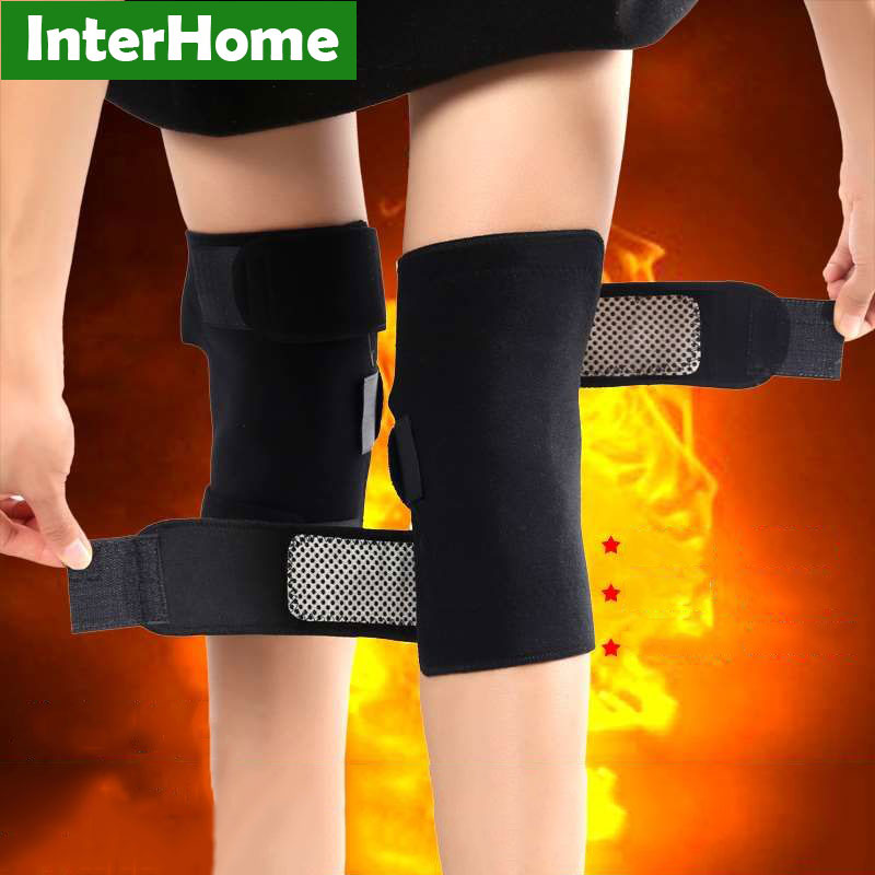 Tourmaline Self-Heating Knee Pads Far Infrared Magnetic Therapy Joint Arthritis