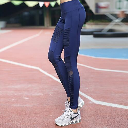 Women Sports Yoga Pants Fitness Sportswear Leggings  Gym