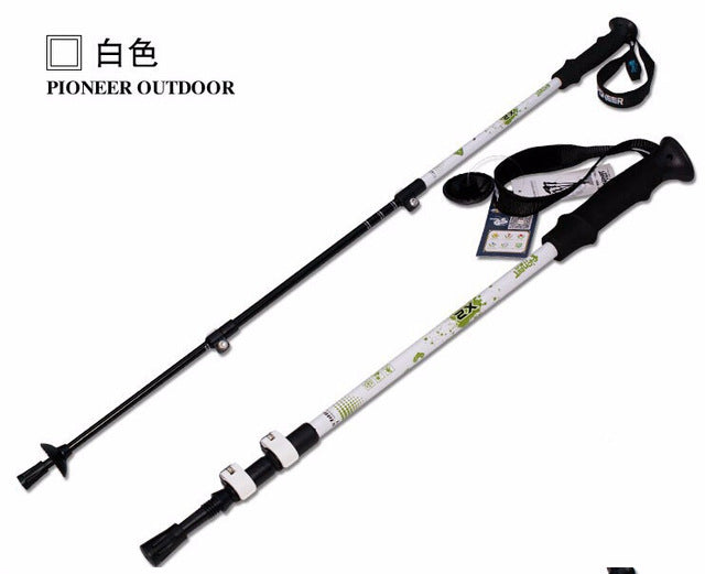 Ultra-light Trekking Ski pole, Walking Stick, ,Hiking, Carbon Fiber