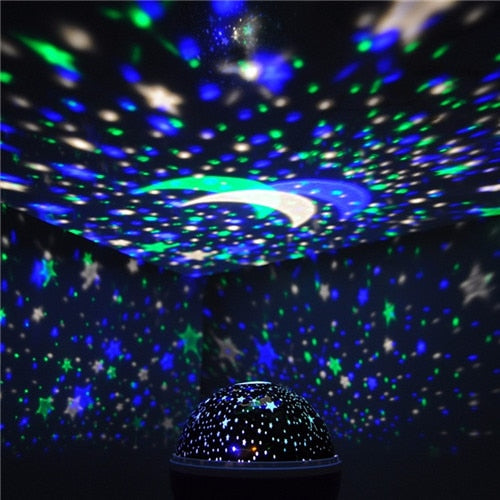 Coversage Led Rotating Night Light Star, Moon, Sky Night Lighting Projector Children, Baby Sleeping