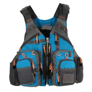 Outdoor Sport Fishing Life Vest Men Breathable Swimming Life Jacket