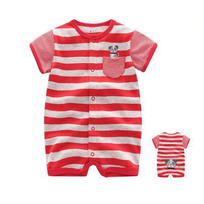 Baby Rompers Short Sleeve Boys/Girls Clothing Jumpsuits Newborn