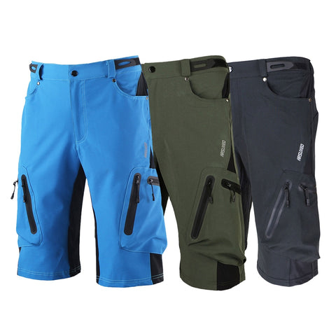 Men's Cycling Breathable, Loose, Anti-Sweat, Quick dry, UV Protection also Mountain Bike Shorts