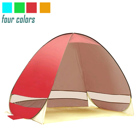 Tent for Beach, Sun Shelter, UV-Protective, Quick Automatic Pop Up, Light weight Camping Fishing