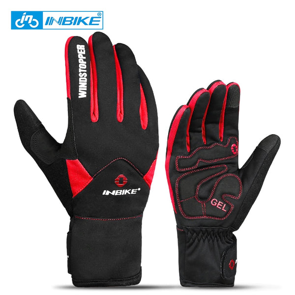 Winter Cycling/Climbing Gloves Full Finger Thermal/windproof Gloves