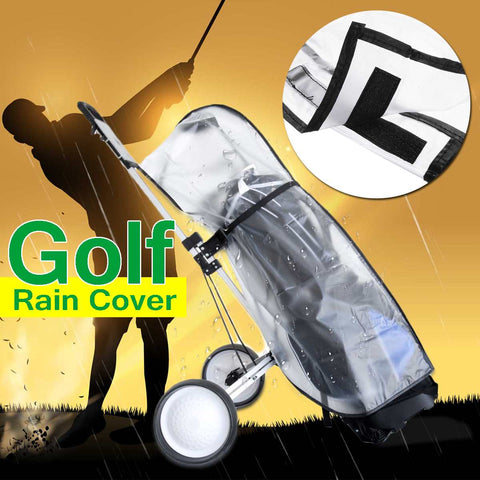 Waterproof, Dust proof, Golf Bag Cover Transparent