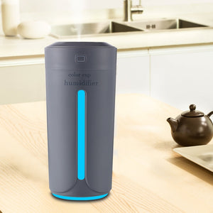 Ultrasonic Air Humidifier Essential Oil Diffuser With 4 Color Lights Electric Aromatherapy USB