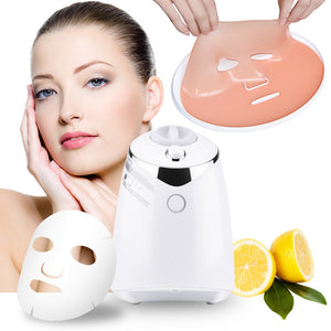 Facial Mask Maker Machine Organic Fruit Vegetable with Four Collagen Peotde Face Skin Care Tool