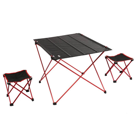 High Quality Portable Folding Ultra-light Aluminum Alloy Table, Chair's, Outdoor, Camping