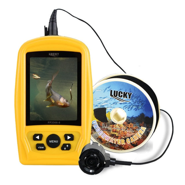 Portable Underwater Fishing & Inspection Camera System Sensor Monitor Fish Sea 20M Cable
