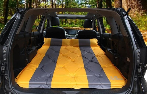 Camping Inflatable Tent Mummy Pads With Pillow Air Mattress for car travel bed Moisture-proof