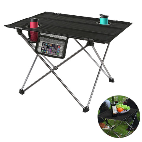 Outdoor, Camping, Hiking, Fishing, Picnic, Folding Waterproof Ultra-light Durable Table Desk