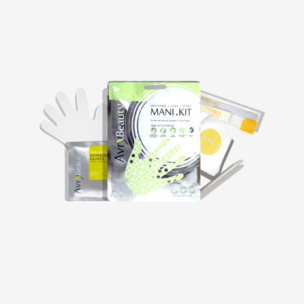 All-In-One Disposable Mani kit with Chamomile Gloves-Essentials & Self Care-Universal Nail Supplies