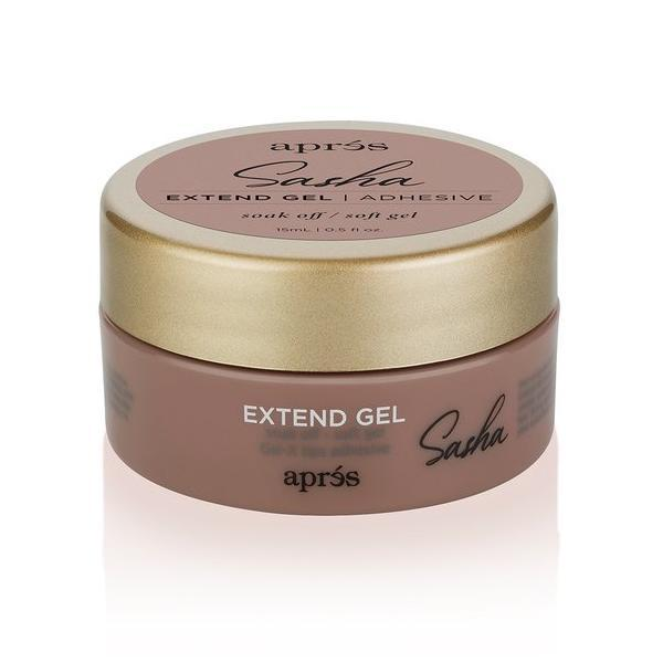 Aprés Nail Gel-X Nail Extensions - Color Extend Gel In Jar - Sasha-Gel System-Universal Nail Supplies