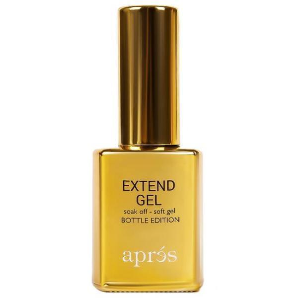 Aprés Nail Gel-X Nail Extensions - Extend Gel Gold Bottle Edition (Brush On)-Gel System-Universal Nail Supplies