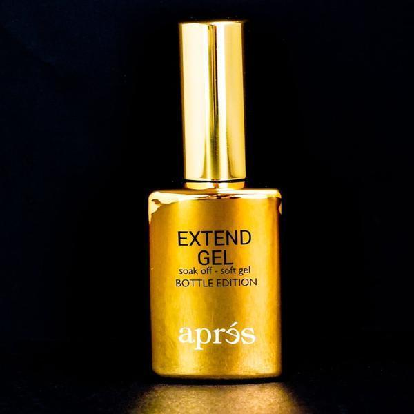 Aprés Nail Gel-X Nail Extensions - Extend Gel Gold Bottle Edition (Large Size) 30 mL-Gel System-Universal Nail Supplies