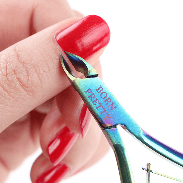 Born Pretty - Rainbow Cuticle Nippers #38327-Gel Nail Polish-Universal Nail Supplies