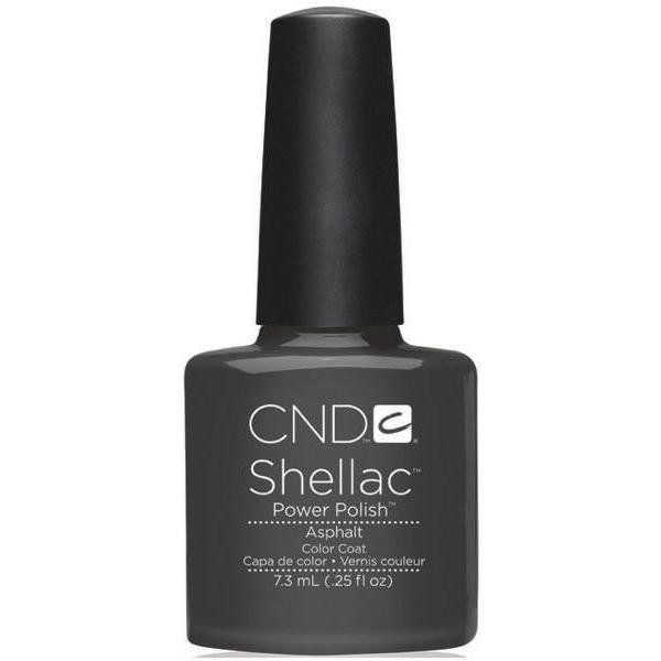CND Creative Nail Design Shellac - Asphalt-Gel Nail Polish-Universal Nail Supplies