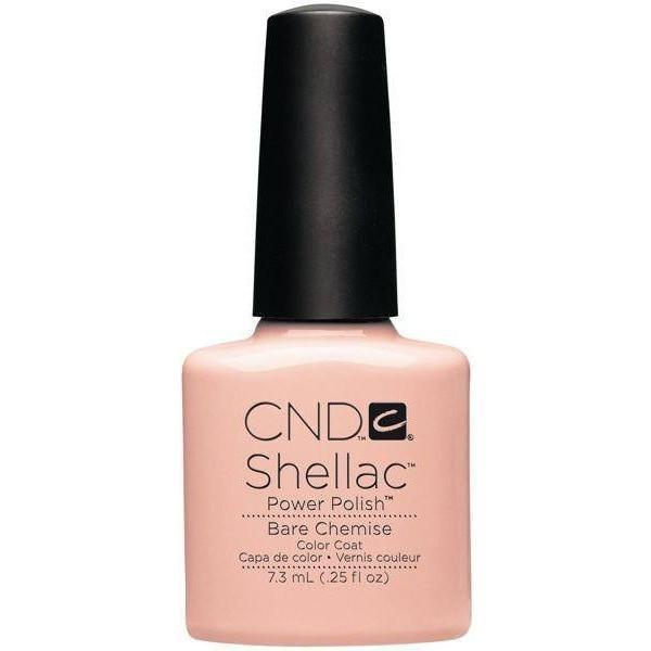 CND Creative Nail Design Shellac - Bare Chemise-Gel Nail Polish-Universal Nail Supplies