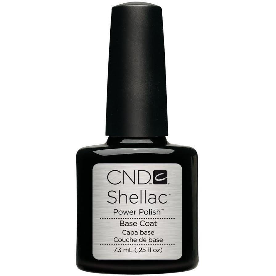 CND Creative Nail Design Shellac - Base Coat 0.25 oz-Gel Nail Polish-Universal Nail Supplies