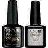 CND Creative Nail Design Shellac - Base & Xpress 5 Top 0.25 oz-Gel Nail Polish-Universal Nail Supplies