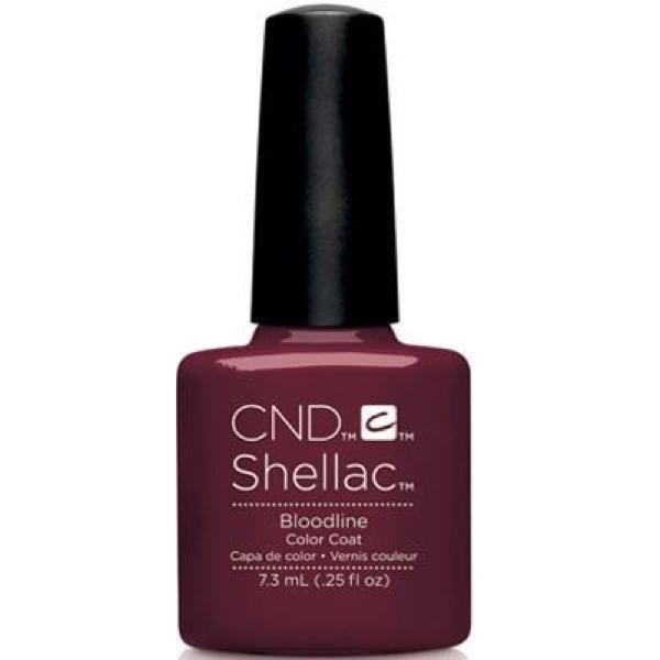 CND Creative Nail Design Shellac - Bloodline-Gel Nail Polish-Universal Nail Supplies
