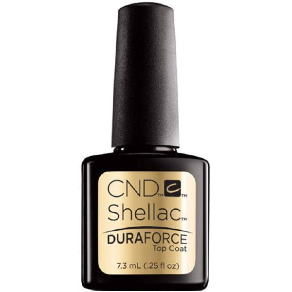 CND Creative Nail Design Shellac - Duraforce Top Coat 0.25 oz-Gel Nail Polish-Universal Nail Supplies