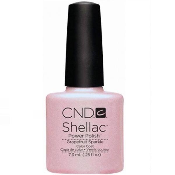 CND Creative Nail Design Shellac - Grapefruit Sparkle-Gel Nail Polish-Universal Nail Supplies