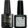 CND Creative Nail Design Shellac - Large Size Base & Xpress 5 Top-Gel Nail Polish-Universal Nail Supplies