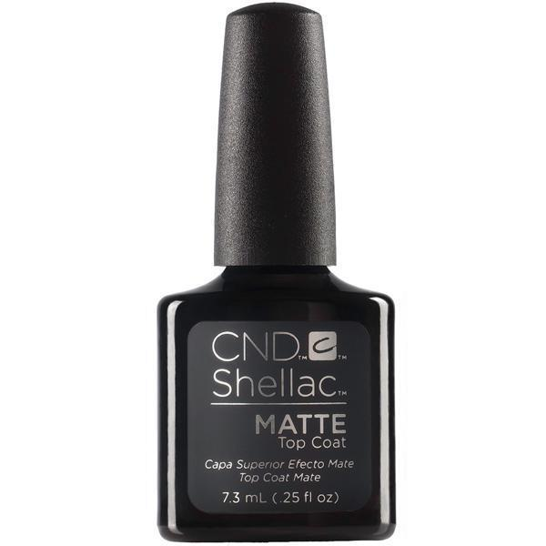 CND Creative Nail Design Shellac - Matte Top Coat-Gel Nail Polish-Universal Nail Supplies