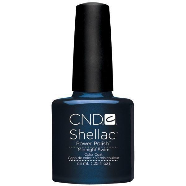 CND Creative Nail Design Shellac - Midnight Swim-Gel Nail Polish-Universal Nail Supplies