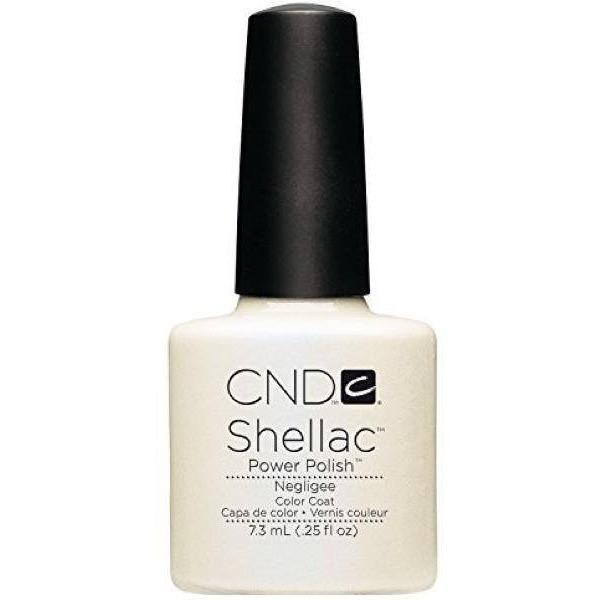 CND Creative Nail Design Shellac - Negligee-Gel Nail Polish-Universal Nail Supplies