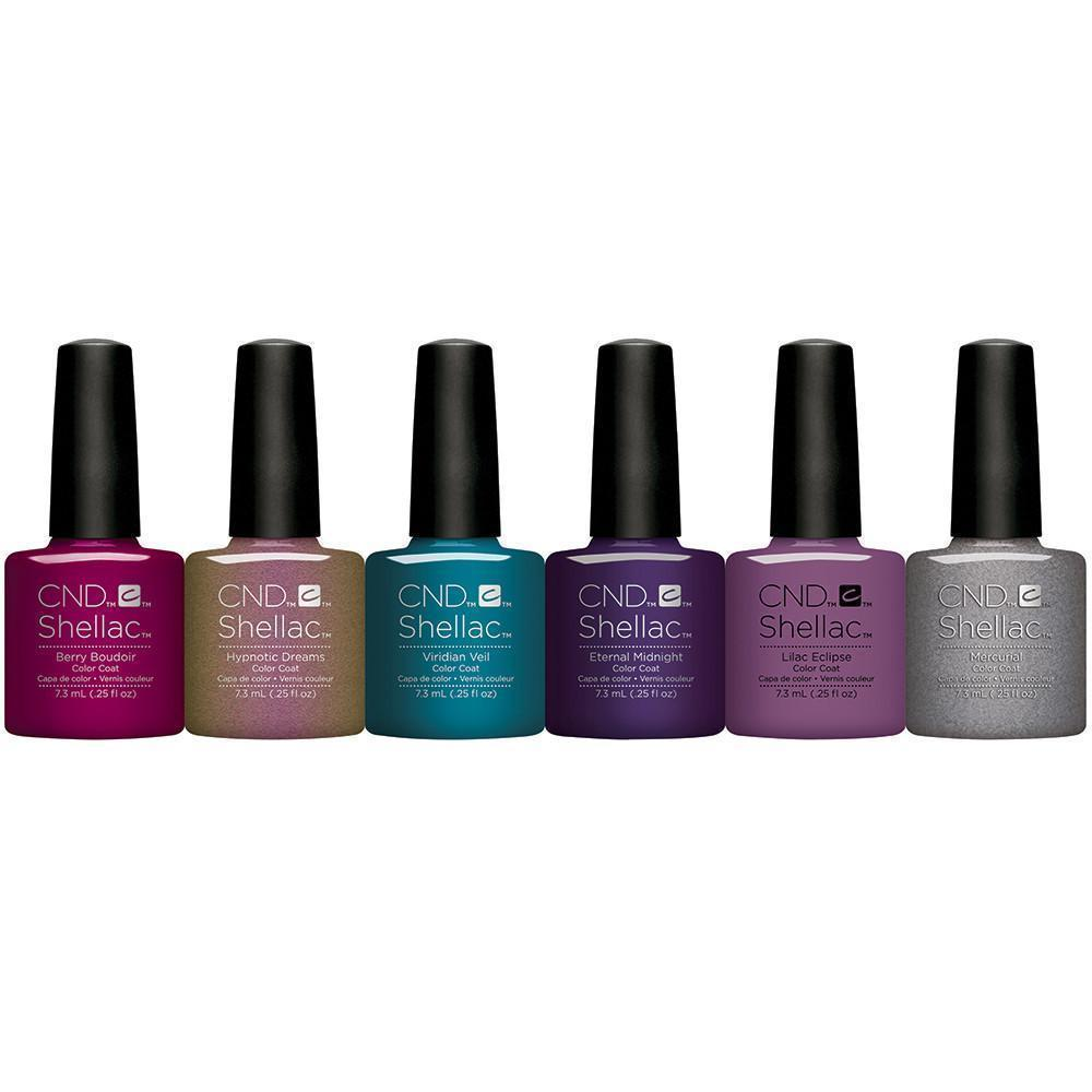 Cnd Creative Nail Design Shellac Nightspell Collection Universal