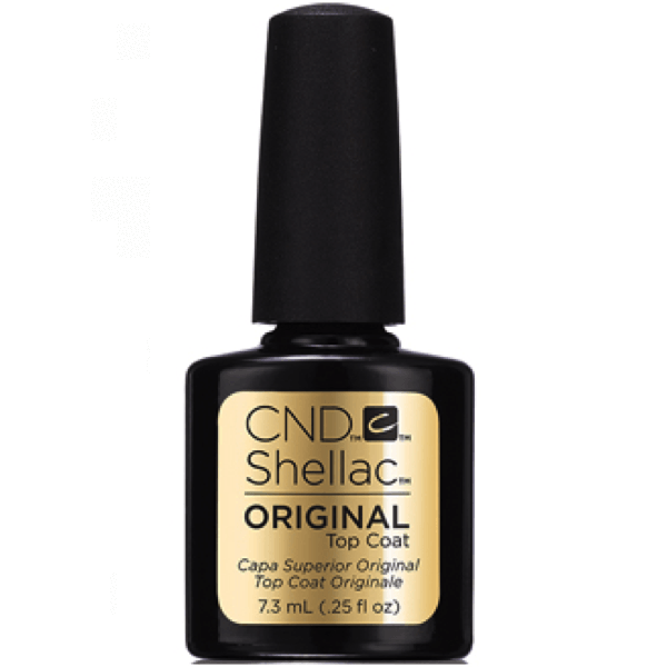 CND Creative Nail Design Shellac - Original Top Coat 0.25 oz-Gel Nail Polish-Universal Nail Supplies
