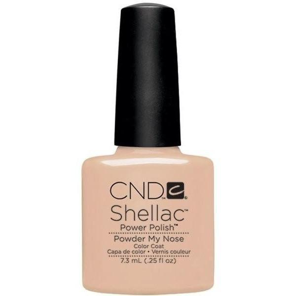 CND Creative Nail Design Shellac - Powder My Nose-Gel Nail Polish-Universal Nail Supplies